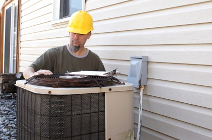 HVAC work by B & M Air and Heating Inc
