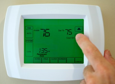 Thermostat service in Studio City CA by B & M Air and Heating Inc