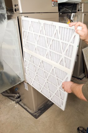 Air filtration system by B & M Air and Heating Inc